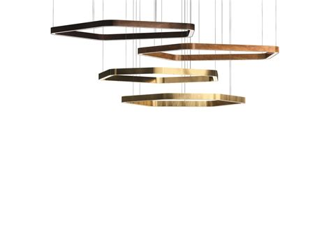 light ring horizontal polygonal henge suspension milia shop