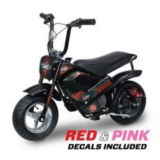 moto electric 24 volt youth mini bike mm e250 the home depot - Monster Moto E250 Electric Mini Bike