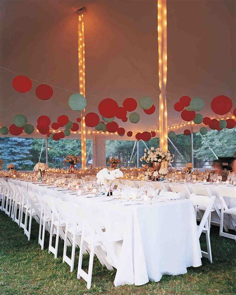 33 tent decorating ideas upgrade wedding reception martha