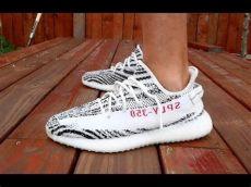 yeezy zebra on feet adidas yeezy zebra up review on