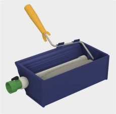 automatic paint brush and roller cleaner rollerwringer paint roller cleaner ebay