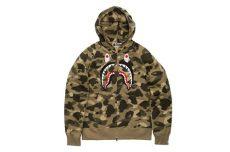 bape hoodie shark bape releases new zip shark hoodies hypebeast