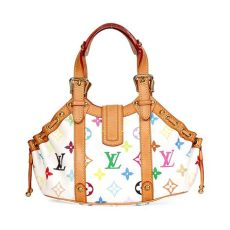 louis vuitton multicolor louis vuitton multicolor theda pm white limited edition luxity