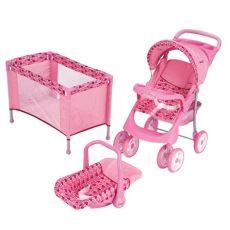carriolas para munecas prinsel juguete kit carriola corral y portabebe tris doll prinsel 999 00 en mercado libre