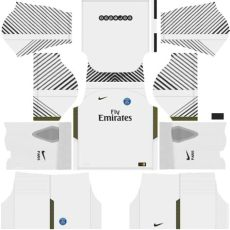 kit psg 2018 novo uniforme para dls 17 league soccer shyz476 - Dls 18 Kit Psg Goalkeeper