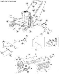 bluebird lawn comber f20b parts bluebird 120 parts list and diagram 2000 12 ereplacementparts