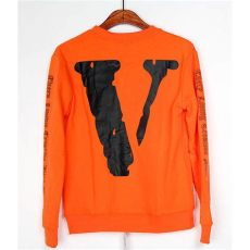 vlone white sleeve shirt orange - Off White X Vlone Shirt