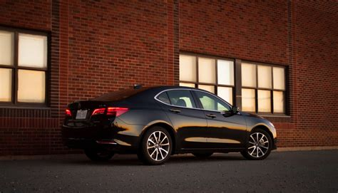 2015 acura tlx v6 sh awd review eating