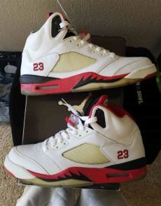 air jordan 5 fire red 2006 air 5 retro 2006 air 136027 162 goat