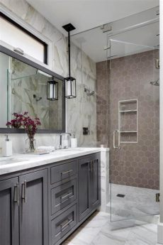 picking tile at floor decor master bathroom by goldwyn live creatively 9 bold bathroom tile designs hgtv s decorating design hgtv