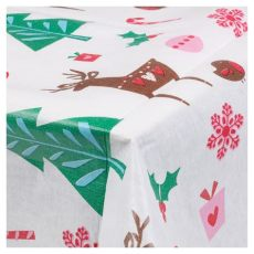 christmas tablecloths uk disposable tablecloth festive rectangle oblong table cloth tableware ebay