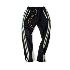rhude clothing brand 2018ss brand rhude sweatpants 1 1 high quality riri zipper trousers drawstring joggers