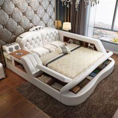 camas matrimoniales modernas camas modernas tapizadas king matrimonial decoraziel bs 2 760 000 00 en mercado libre