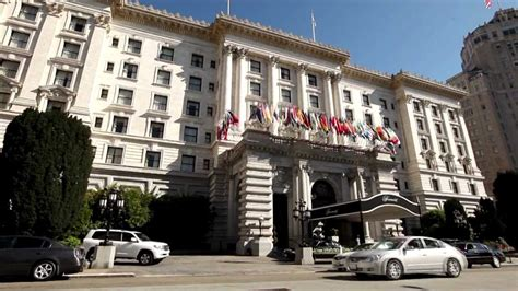 fairmont san francisco hotel overview youtube