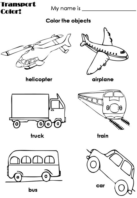 means transportation preschool coloring pages transportation preschool transportation