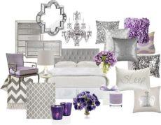 lavender and grey bedroom silver bedroom purple bedrooms home decor - Lilac And Silver Bedroom Accessories