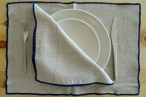 table linens commune design dwell