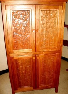 roperos de madera usados venta de ropero madera 56 articulos usados