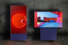 como arreglar la imagen de un televisor samsung samsung the sero el televisor que rota como si fuera la pantalla de un m 243 vil
