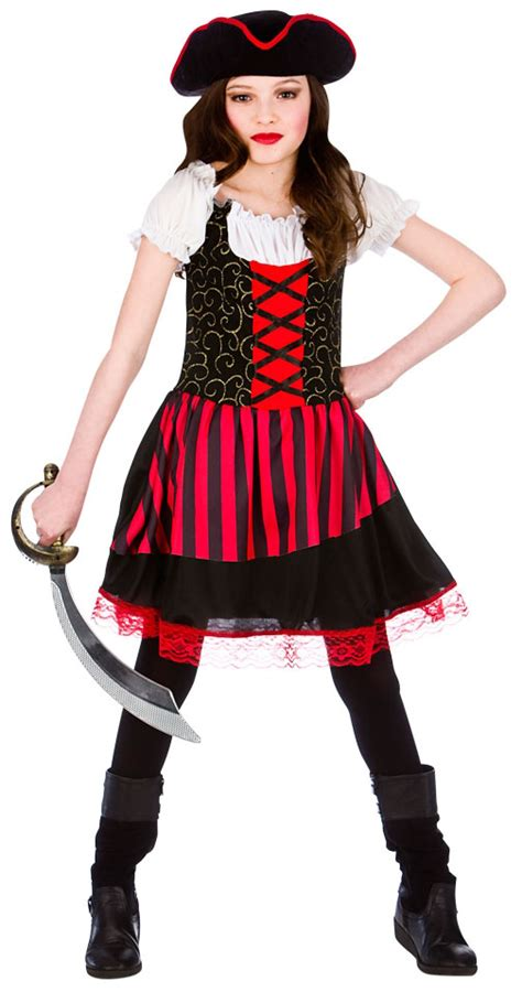 pirate girl age 8 9 10 kids fancy