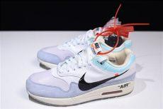 nike air max 1 x off white s white x nike air max 1 white light blue black aa3827 100 with sneaker
