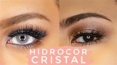 solotica contacts on dark eyes solotica hidrocor cristal contacts on brown asian mrkendenis review mrkendenis