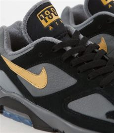 nike air max 180 grey black gold nike air max 180 shoes cool grey wheat gold black always in colour