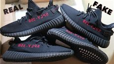 yeezy 350 v2 fake vs real real yeezy 350 boost v2 quot bred quot vs the quot best quot yeezy 350 boost v2 quot bred quot warning