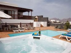 house apartment luxury villa tub pool pooltable stunning sea views lanzarote - Playa Blanca Villas With Pool And Hot Tub