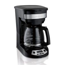 cafetera 12 tazas hamilton beach negro 49150 hamilton 46299 cafetera para 12 tazas programable est 225 ndar color negro paquete de 1