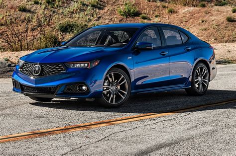 2018 acura tlx reviews rating motortrend