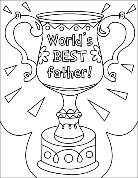 free printable happy fathers day coloring pages father