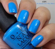 opi no room for the blues cause i m feeling blue of and lacquer - Opi Blue Colors