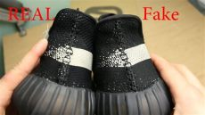 yeezy boost 350 black and white fake yeezy 350 v2 black white quot real vs quot