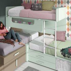 literas de tres camas modernas pin en literas