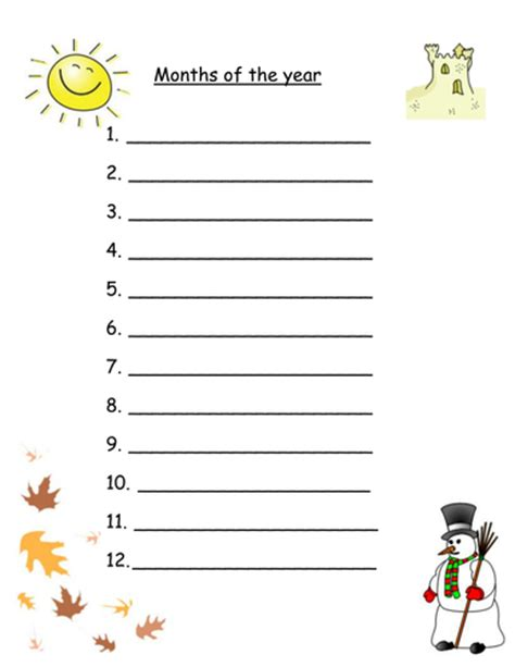 months year worksheets mixed abilities robyn perry91 teaching