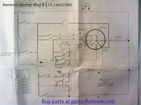 bosch washing machine motor wiring diagram kenmore washer