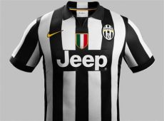 footy news juventus 2014 15 home and away kits released - Juventus Nike Kit