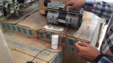 como ponerle aceite a un compresor como conectar un capacitor o condensador a un compresor libre de aceite refermmex