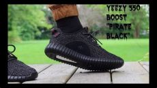 yeezy boost 350 pirate black on feet yeezy 350 boost quot pirate black quot review w on