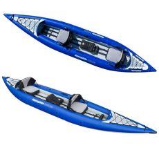 aquaglide chelan hb tandem xl aquaglide chelan 155 hb xl kayak with carry storage bag