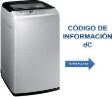 codigo de lavadora samsung lavadora samsung wa90h4400 con wobble pulsator 9kg 191 qu 233 es el c 243 digo de informaci 243 n dc