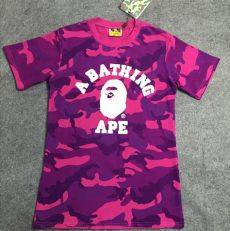2015 fashion bape t shirt college purple blue camo sleeve shirts aape - Purple Bape T Shirt