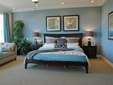25 blue and brown bedrooms decor designs decor or design - Blue Green Brown Bedroom Ideas