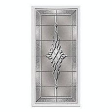 odl door glass inserts home depot odl kingston 22 inch x 48 inch nickel caming with hp frame the home depot canada front doors