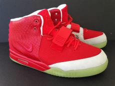 one month later 10 facts about the october nike air yeezy 2 a month after its release - Nike Air Yeezy Red October Replica
