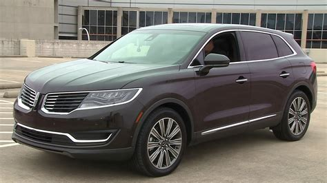 tech review 2016 lincoln mkx black label youtube