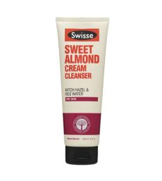 swisse face wash swisse sweet almond cleanser 125ml health delivery