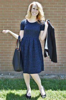 lularoe amelia medium lularoe review the amelia dress modest blondie