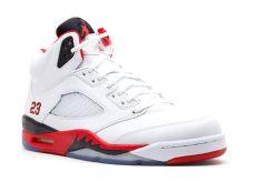 air 5 retro quot 2013 release quot air 136027 120 white black flight club - Air Jordan 5 Retro Fire Red